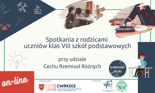 Spotkania z rodzicami uczniów szkół podst. z CWRKDiZ w  Pile i CRR