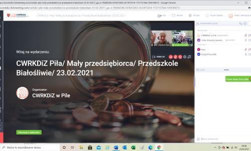 Maly przedsiebiorca warsztaty online z Przedszkolem Białosliwie  (5)