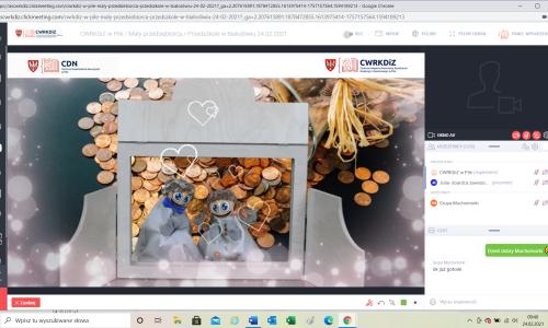 Maly przedsiebiorca warsztaty online z Przedszkolem Białosliwie  (2)