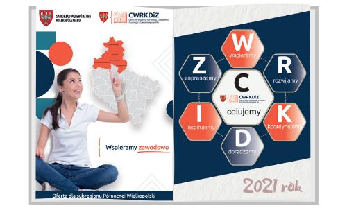 baner na katalog oferty CWRKDiZ w Pile na 2021