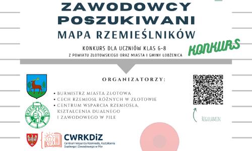 """""""ZAWODOWCY POSZUKIWANI - Mapa rzemieślników 2021"""""""