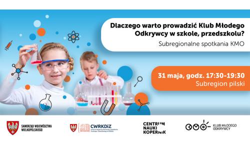 500 na 300 px banek zaproszenie na spotkanie klubu mlodego odkrywcy w Pile w dniu 31 maja 2021 roku